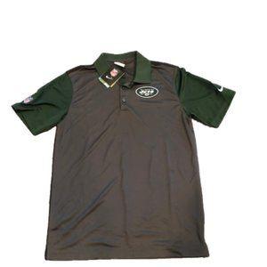 NWT New York Jets Nike Dri-Fit Polo Shirt